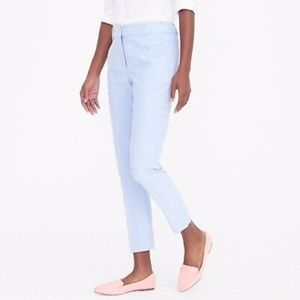 J.Crew Skimmer pant in cotton Oxford sz 2